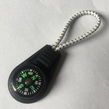 4Pcs Compass Zipper Pulls Cord Rope Ends Lock Zip Clip Buckles For Paracord