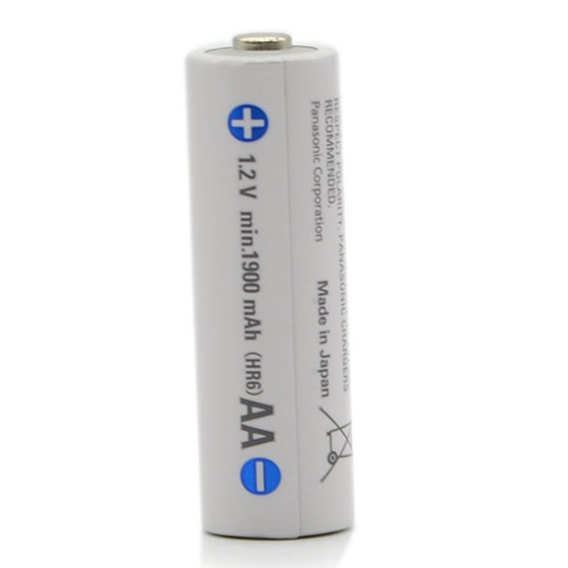 Batería recargable AA Panasonic 100% Original de 1,2 V 1900mAh para la...