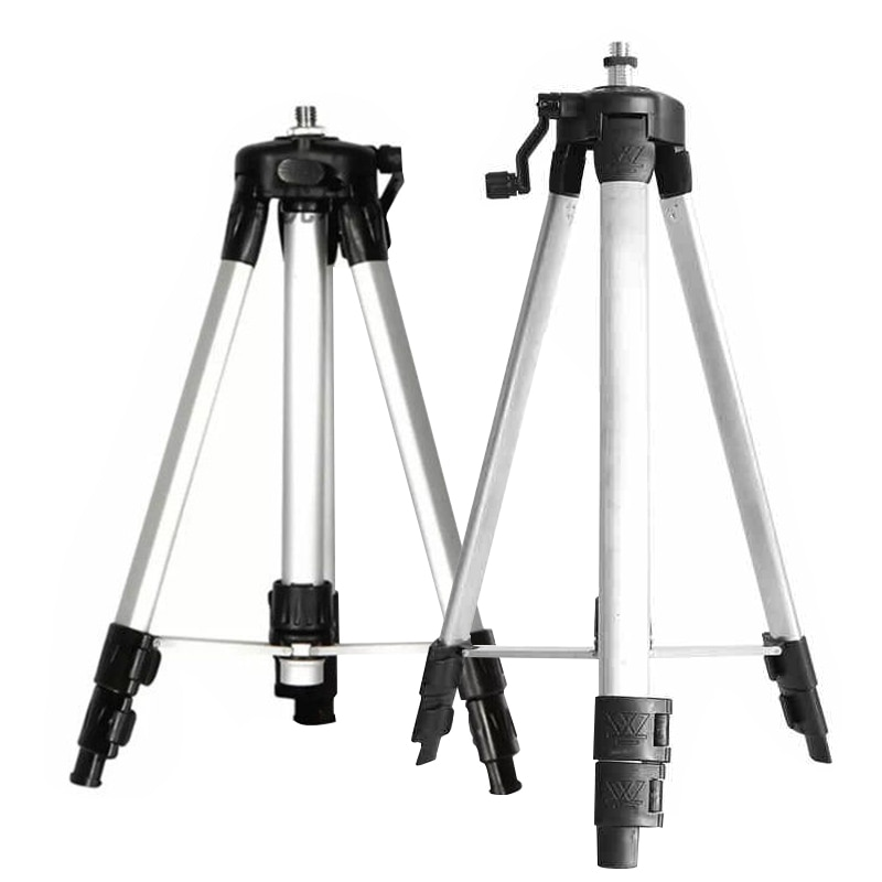 12 Lines Laser Level Tripod Base Wall Bracket 1.2 /1.5M Extension Rod  Adjustable  Aluminum Tripod Stand For Self leveling