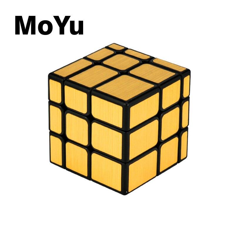 Nuevo Cubo de espejo Moyu Meilong 3x3x3 Cubo de velocidad mágica rompecabezas profesional Cubo mágico juguetes para niños bloques de espejo 3x3 Cubo