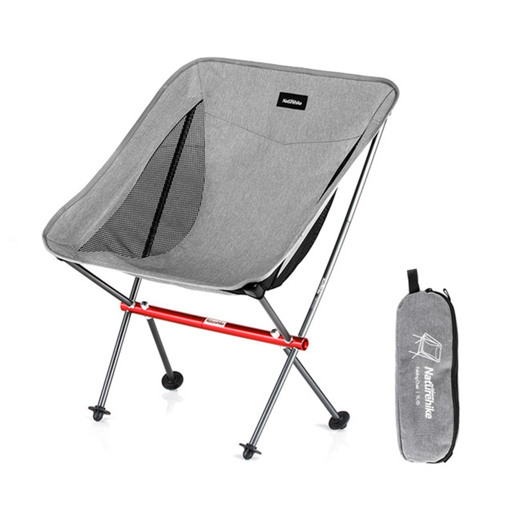 Naturehike Outdoor Camping Folding Chair Leisure Folding Portable Aluminum Alloy Sketch Fishing Beach Stool Chair enlarge