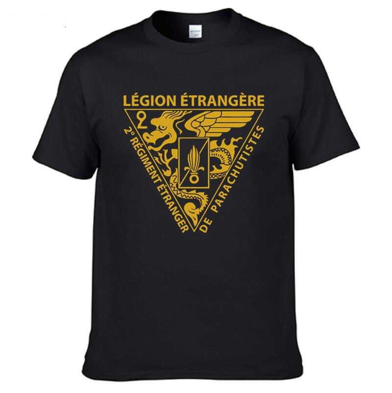 Camiseta de las Fuerzas Especiales de la Legión Exterior francesa para hombre...