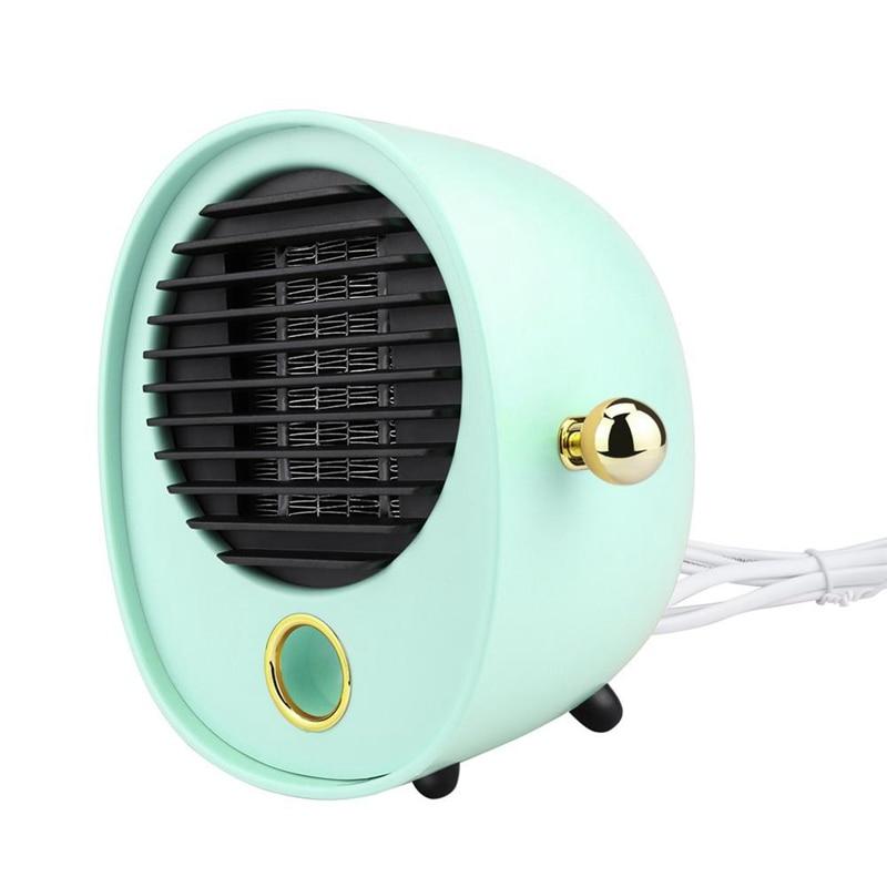 Ventilador de aire caliente de escritorio Mini calentador eléctrico calentador portátil Mini calentador eléctrico de escritorio