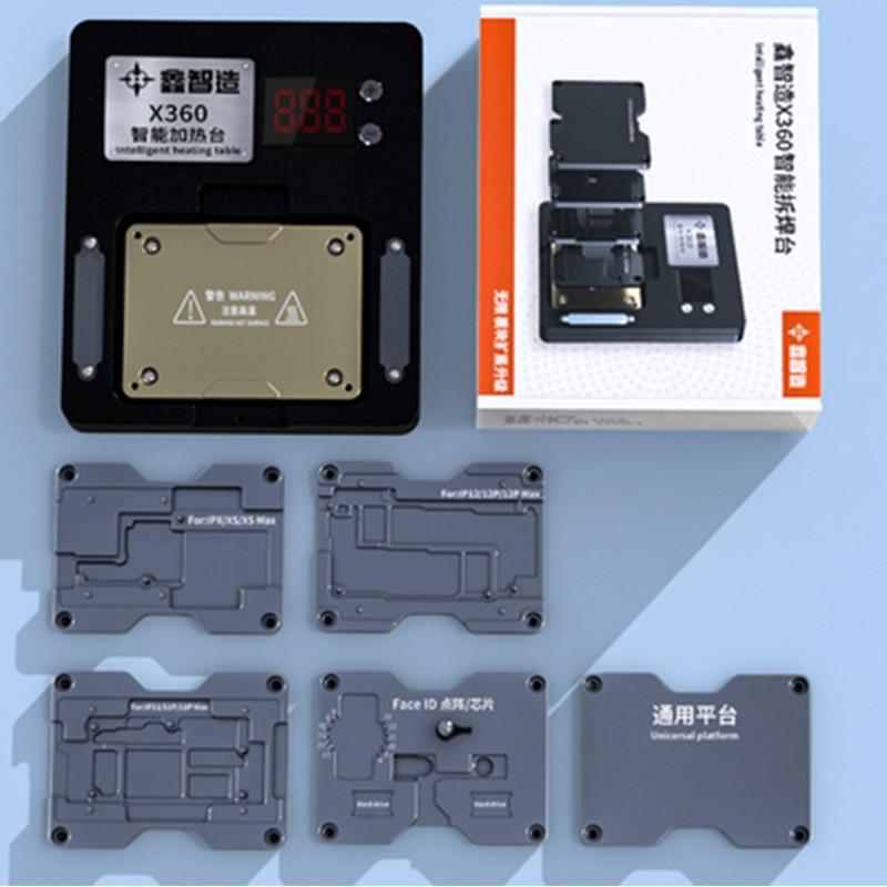 Наборы инструментов XINZHIZAO X360 интеллектуальная Тепловая настольная сварочная платформа для IPhone X-12 PRO MAX Dot Matrix Prejector материнская плата Layer Fix