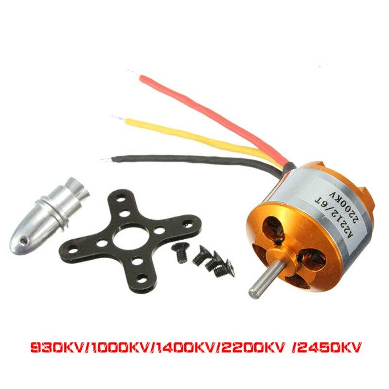 XXD A2212 2212 A2208 2208 бесщеточный мотор 930KV 1000KV 1400KV 2200KV 2450KV 2700KV для RC самолета бесщеточный мотор для мультикоптера