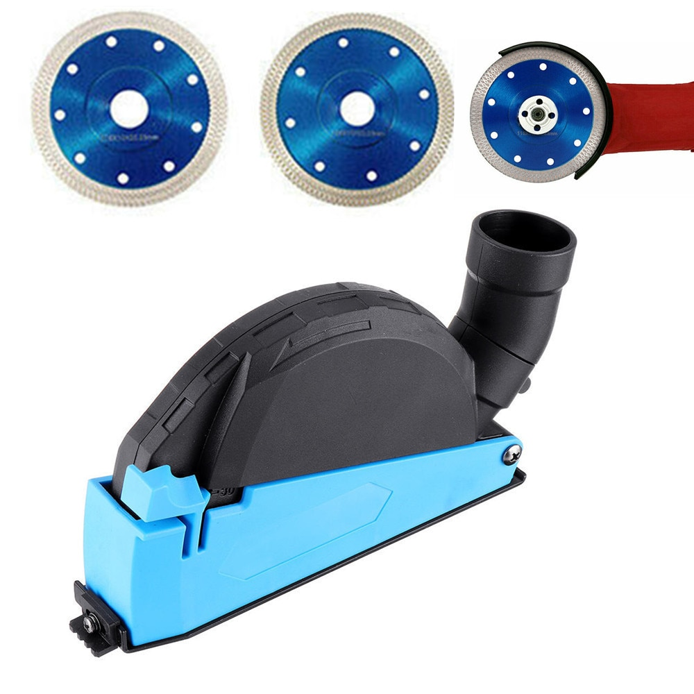 AliExpress - Premium Universal Surface Cutting Dust Shroud For Angle Grinder 4 Inch to 5 Inch Dust Collector Attachment Cover Tool Durable