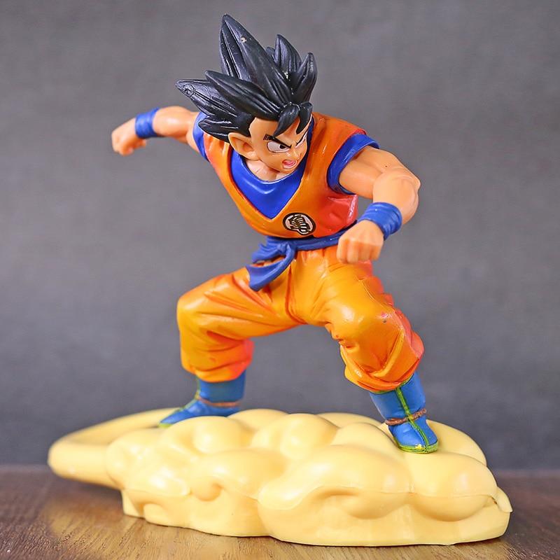 Ball Z Son Goku Goku Montando Cambalhota Nuvem Pose Figura Brinquedo Styling Anime DBZ Dragonball Modelo Boneca