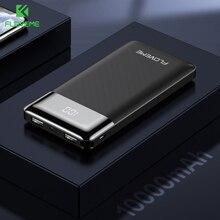 FLOVEME For Xiaomi Power Bank 10000mAh LED Display Mini Power Bank 10000 Powerbank 10000mAh PoverBank Carregador Portati Charger