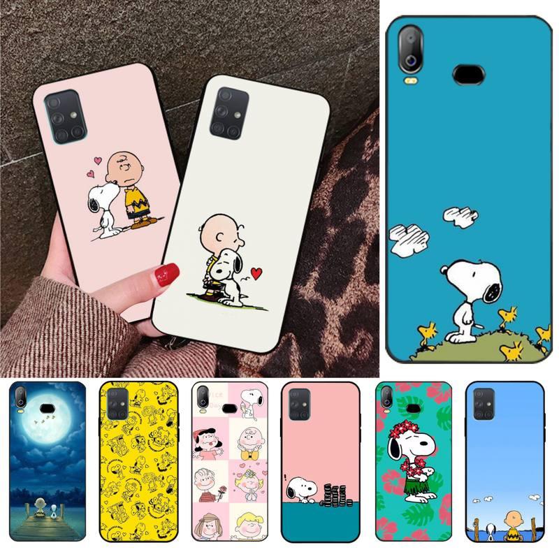 HPCHCJHM PEANUTS Pattern Luxury Unique Design Phone Cover For Samsung A10 A20 A30 A40 A50 A70 A71 A51 A6 A8 2018