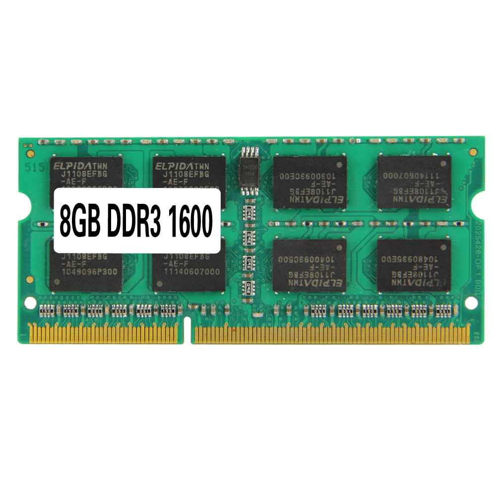 Laptop Memory Ram SO-DIMM PC3-12800 DDR3 1600MHz 204PIN 2GB /4GB/8GB  DDR3 PC3-12800 1600MHz 204PIN For Notebook