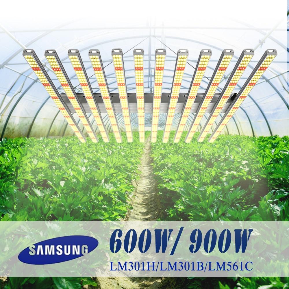 Led Grow Light bar quantum tech board Samsung LM301H 600W 900W Full spectrum 3000K 3500K Indoor grow tent plants light for plant