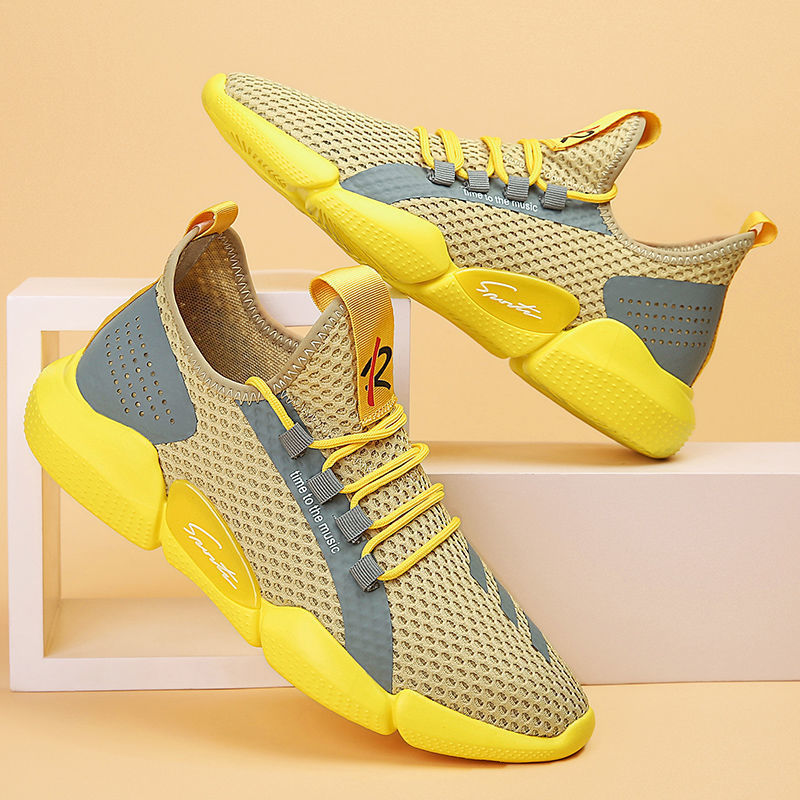 Mens Running Shoes 2020 Fashion New Light Summer Breathable Mesh Sports Casual Shoes Outdoor Men Jogging Shoes Tenis Sneakers