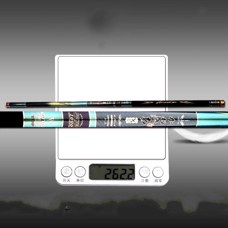 8/9/10/11/12/13m Taiwan Fishing Rod Ultra-light and Ultra-hard Carbon Fishing Olta Hand Pole Telescopic Fish Canne Vara De Pesca enlarge
