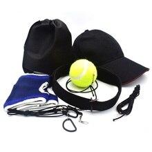 Balle de combat équipement de boxe balles de poinçonnage vitesse entraînement compétences de réponse ouvert Sport bandeau amélioré nouveau Design avec anneau en D