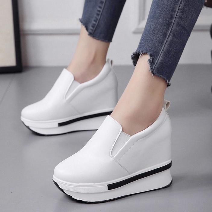 platform sneakers women shoes women sneakers shoes Platform Casual Shoes Woman platform shoes loafer