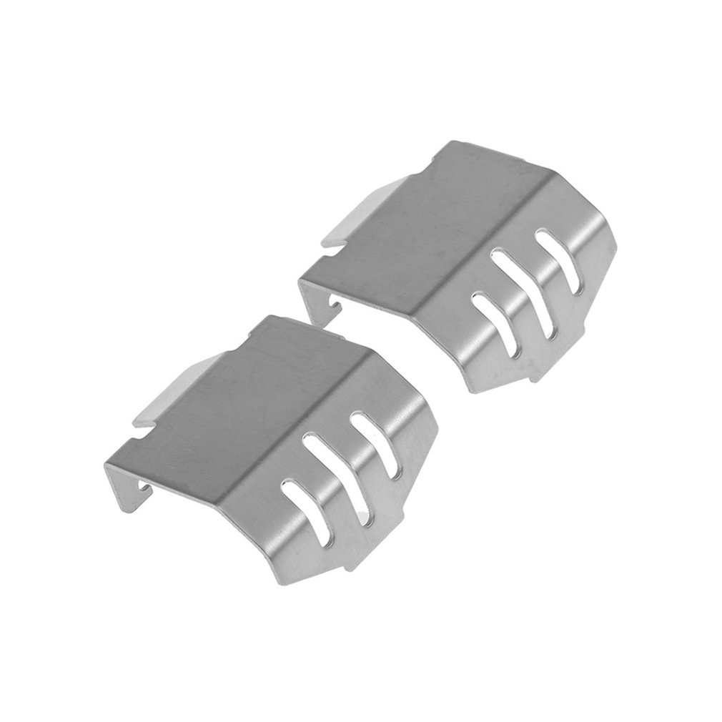 Stainless Steel Chassis Armor Axle Protector Skid Plate For 1/10 Traxxas TRX-4 RC Car Metal Protector Plate Kit enlarge