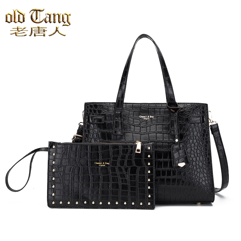 High Quality Women's Handbags Large Capacity Hand  Shoulder Bags for Women 2021 New Casual Ladies Cr