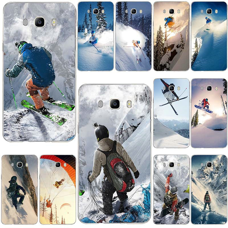 For Samsung Galaxy A3 A5 A7 J3 J5 J4 J6 J7 J8 2015 2016 2017 2018 Shell Soft TPU Phone Cover Snow Or