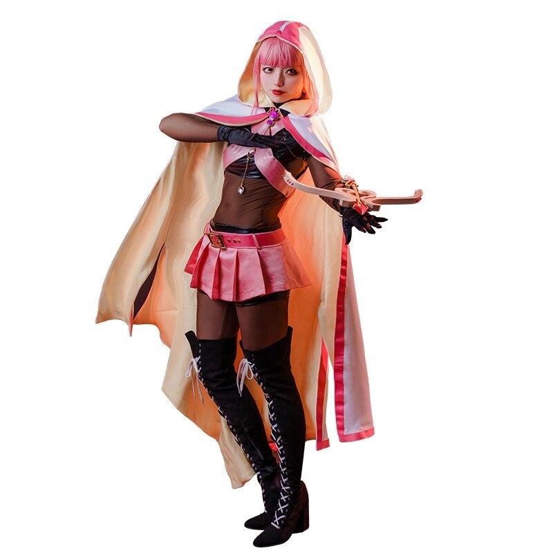 Anime cosplay traje puella magi madoka magica kaname madoka registro mágico lolita vestido um