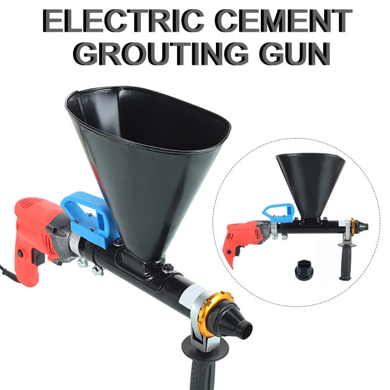 Quick Cement Mortar  Electric Automatic Cement Mortar Filling Gun Grouting Machine Security Doors And Windows Cement Filling Gun