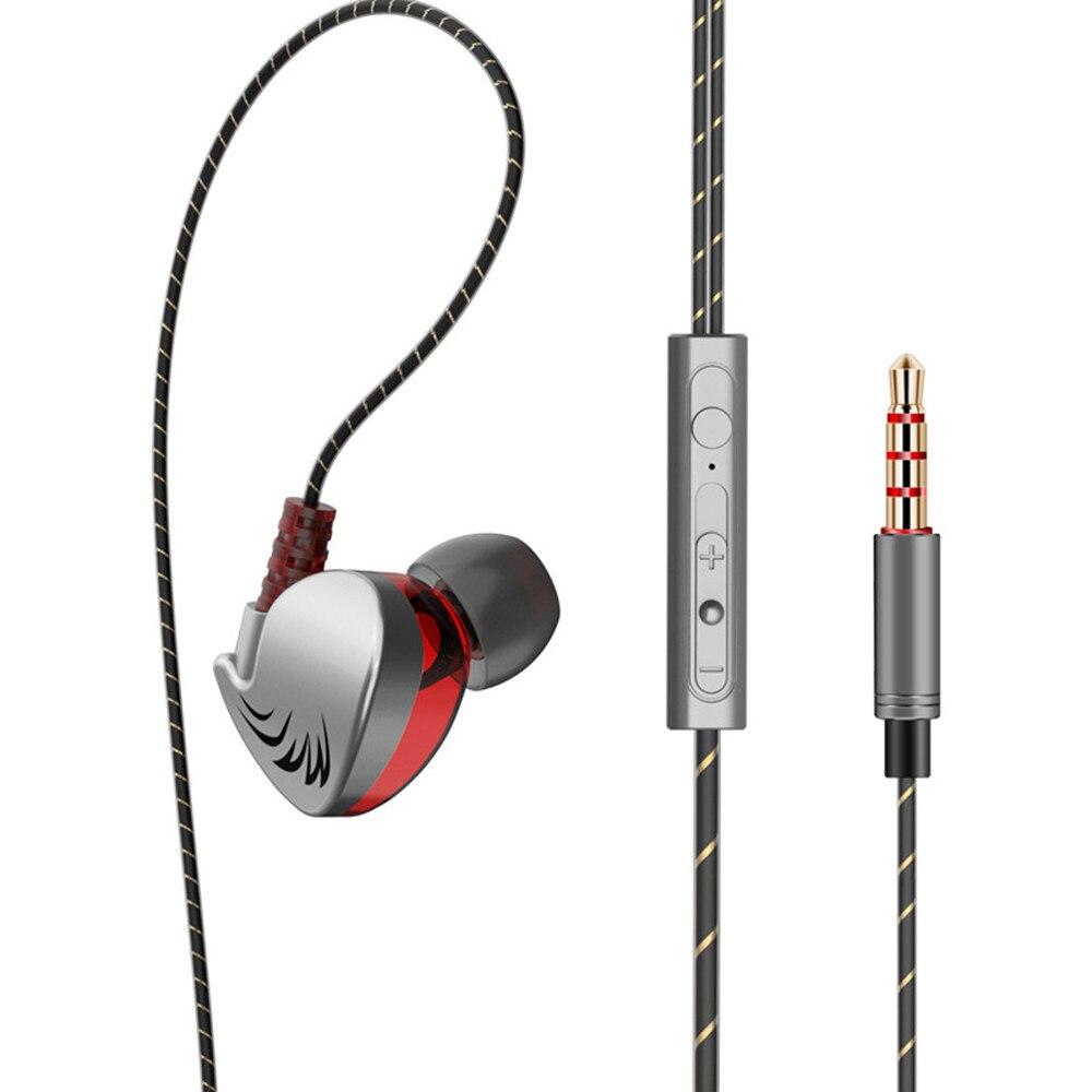New Headphone HIFI QKZ CK7 In Ear Earphone Stereo Race Sport Headset For Computer tablet laptop Mobile PS4