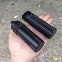 Мини EDC снаряжение выживания водонепроницаемый бокс экстренные Медицинские бутылки открытый инструмент первой помощи контейнер для хране...