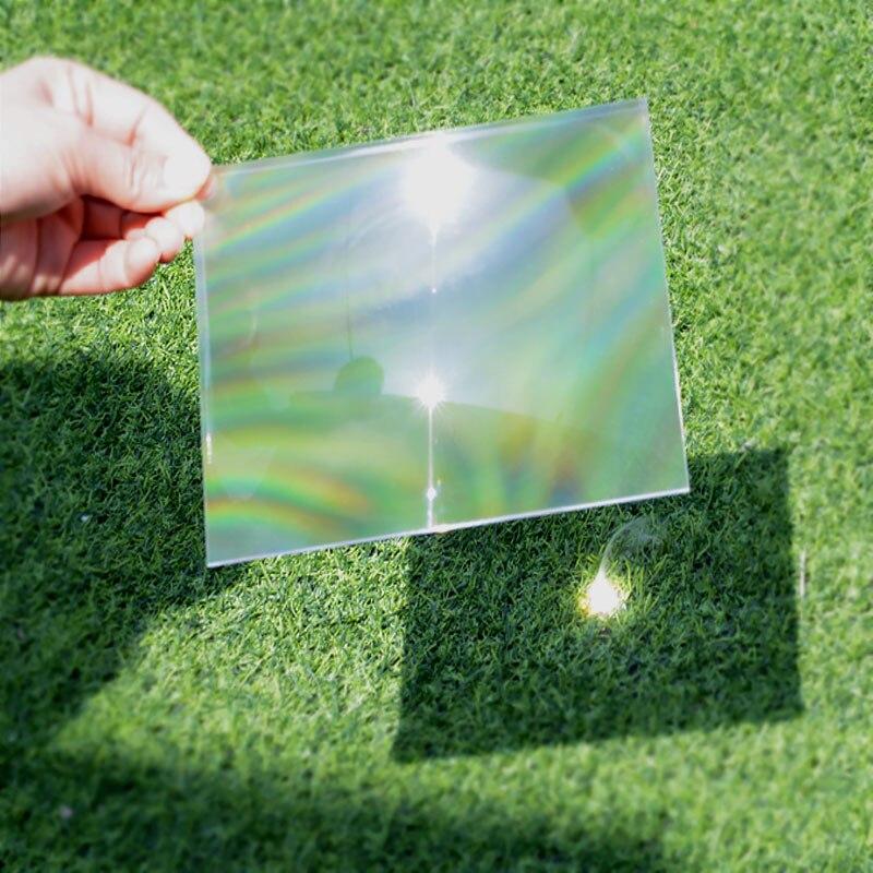 150x150mm para Faça Óptica Pmma Plástico Fresnel Solar Lente Você Mesmo Projetor Lupa Concentrador Experimento Científico