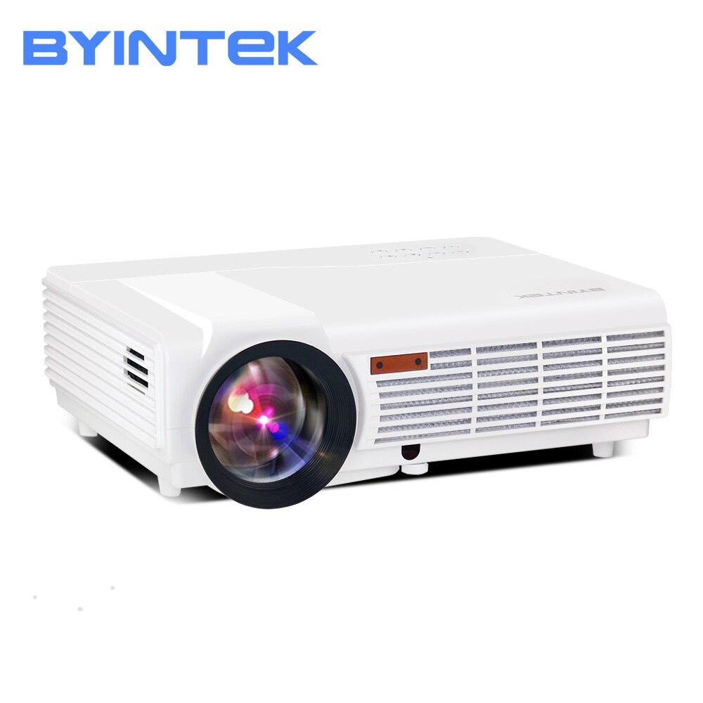Proyector LED BT96 BYINTEK, Proyector de cine en casa de 200 pulgadas, Proyector LED para Cine Full HD 1080P 3D 4K