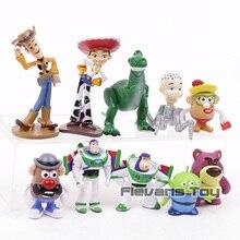 4 Woody Buzz Lightyear Jessie Rex Mr Potato Head Alien Lotso мини ПВХ Фигурки игрушки детский подарок 10 шт./компл.