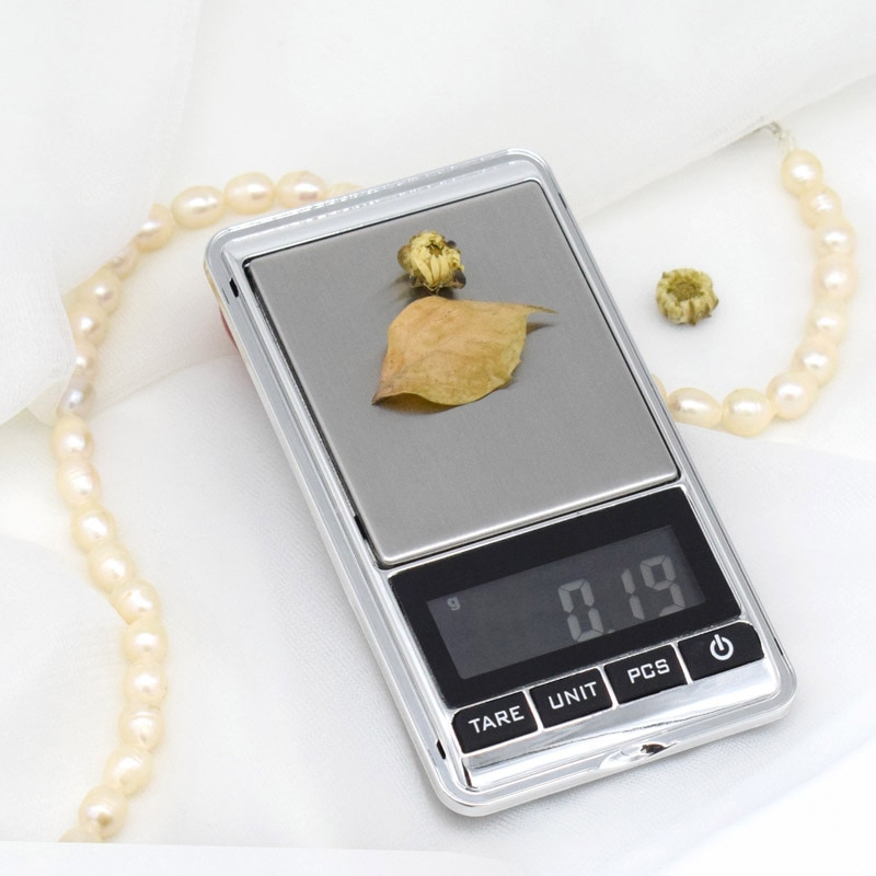 Mini Portable Jewelry Digital  Scale Precision Electronic Pocket Gold Silver Diamond Weighting Gram