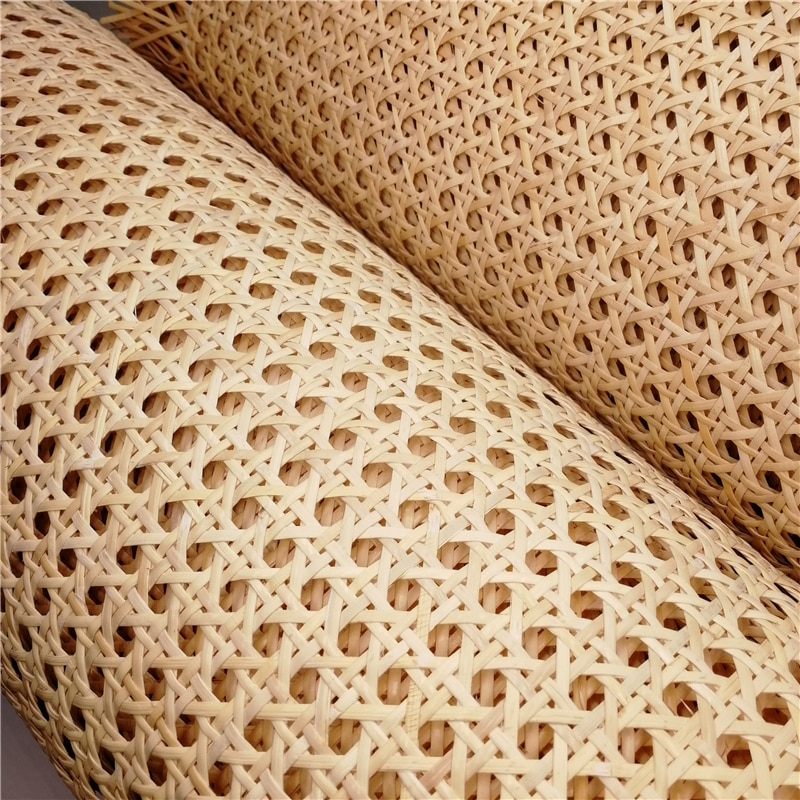 30 70CM Wide Natural Indonesian Real Rattan Wicker Cane Webbing Furniture Chair Table Repairing Material