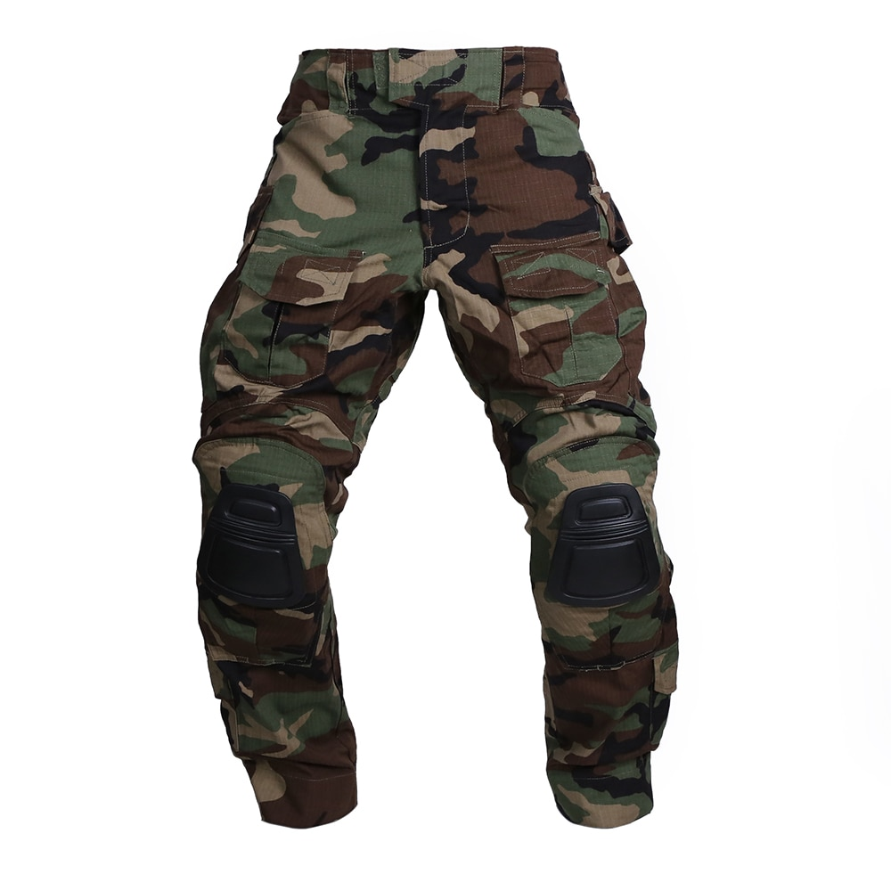 Emersongear Tactical Training Pants Gen 3 Mens Cargo Trouser Shooting Airsoft Hunting Military Combat Hiking Cycling WL EM7044
