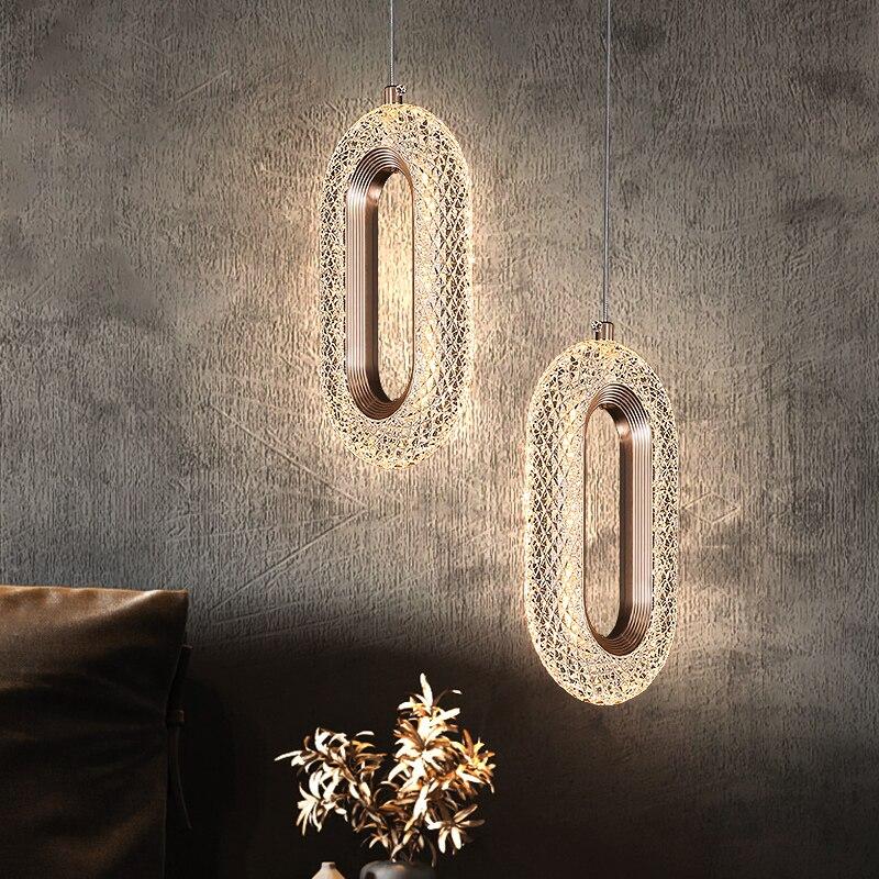 الشمال نوم Bedsde قلادة أضواء lShell إندور الإضاءة غرفة المعيشة حائط الخلفية أضواء المطبخ سقف معلق غطاء مصباح