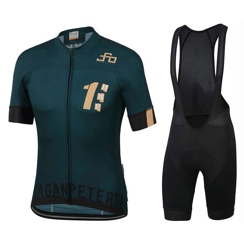 Camisa da Equipe de Ciclismo dos Homens Peter Sagan Bicicleta Shorts Conjunto Ropa Mtb Verão Pro Ciclismo Maillot Roupas Inferiores 2022 20d