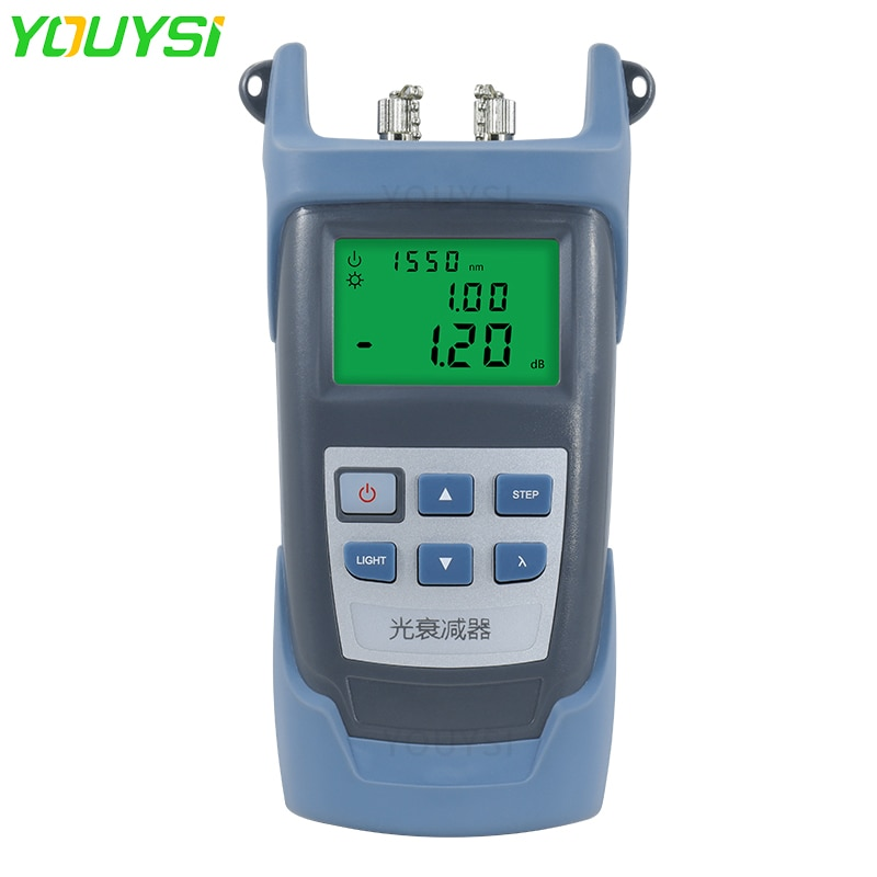 YOUYSI 0-60dB يده الألياف البصرية المخفف المتغير YYS-AT60 المخفف البصري قابل للتعديل