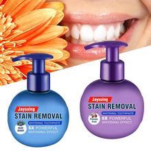 220g dentifrice blanchiment des dents élimination des taches réduire gommeux dentifrice naturel intensif détachant soins des dents