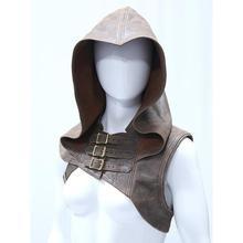 Medieval Men costumes Accessories Viking Warrior Aristocrat Cavalier Knight Shawl Cape Men Renaissance Cosplay hat