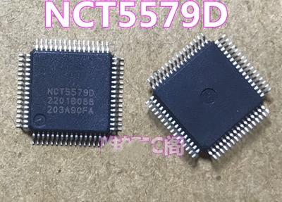 2PCS NCT5579D LQFP-64 NCT5579 LQFP64 5579 NCT55790 Novo e original