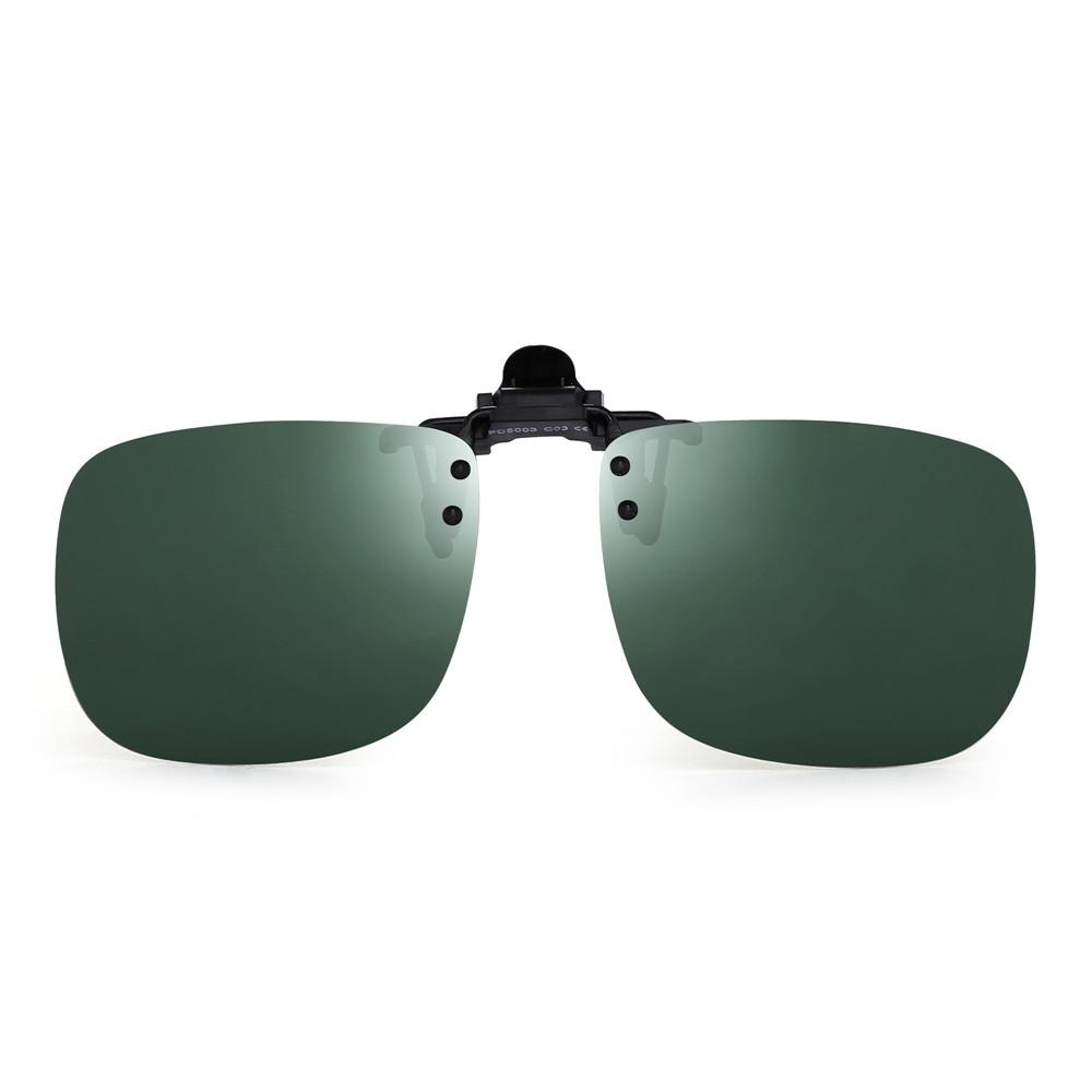 AliExpress - Polarized Clip On Sunglasses Women Men Frameless Filp up Sunglasses for Prescription Glasses UV400