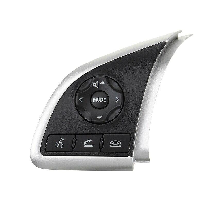 Volante do carro o botão interruptor de controle cruzeiro para mitsubishi outlander 2013 2014 2015 8616a037