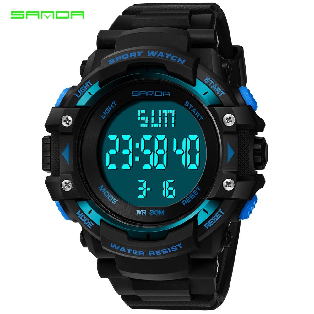 Relojes deportivos G Shock para hombre, reloj de pulsera militar resistente al agua, relojes digitales LED de marca de lujo