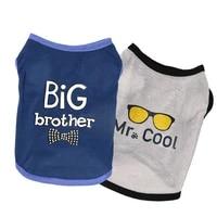 cute paw printed heart love design dog vest clothes soft summer dog shirt puppy dog accessories t shirt pet vest apparel clothes
