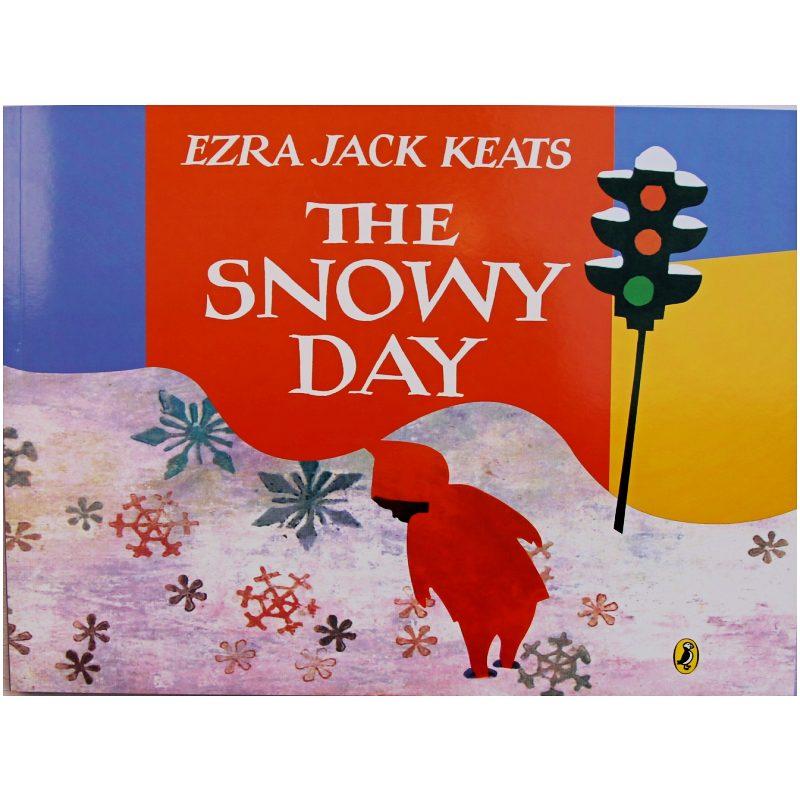 O dia de neve por ezra jack keats educacional inglês imagem livro livro de aprendizagem cartão de história para o bebê crianças presentes