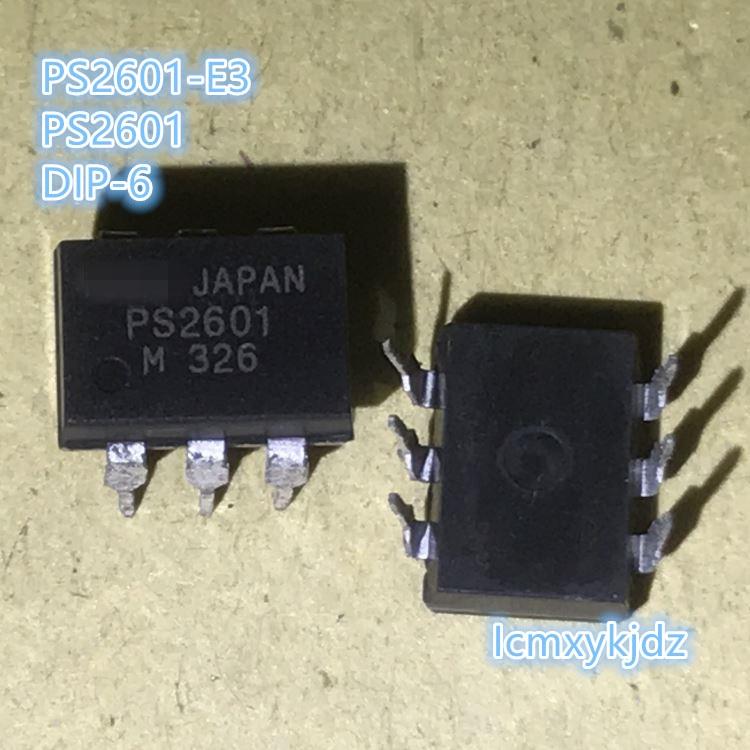 10 unids/lote, PS2601 DIP-6, nuevo producto Original, nuevo, envío gratis, entrega rápida