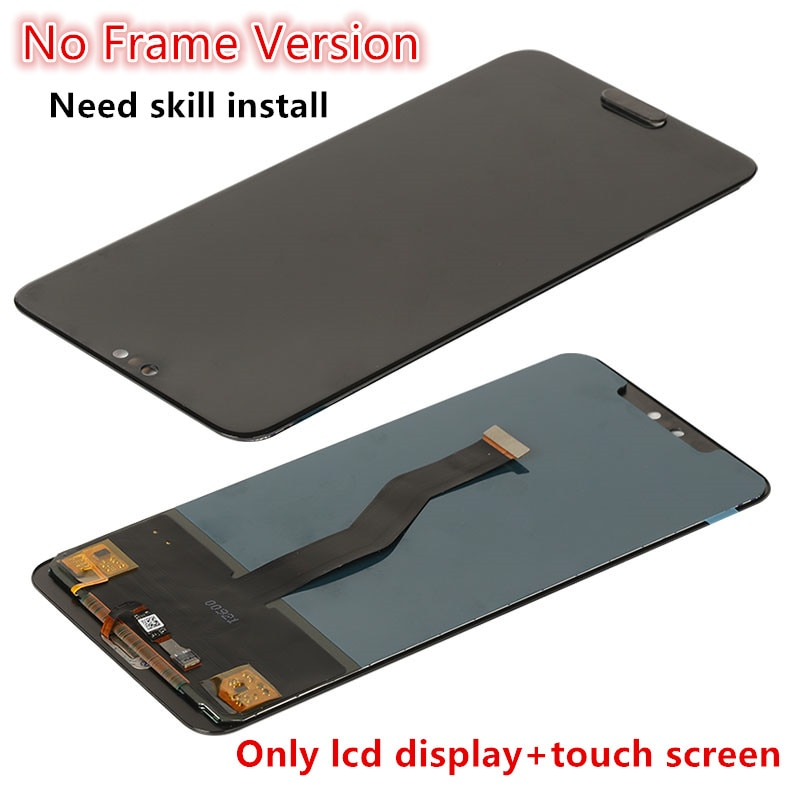 TFT Display For Huawei P20 Pro CLT-L09 Lcd Screen Tested Lcd Display+Touch Screen With Fingerprint For Huawei P 20 Pro CLT-L29 enlarge