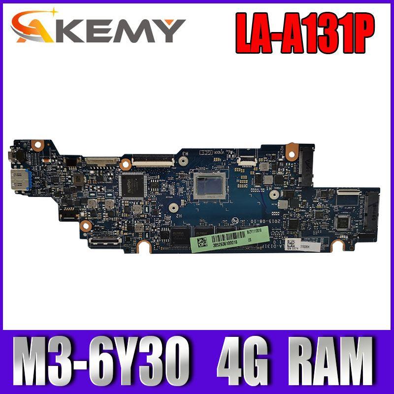 Placa base LA-D131P para ordenador portátil For Lenovo YOGA 700-11ISK placa base original 4G-RAM M3-6Y30