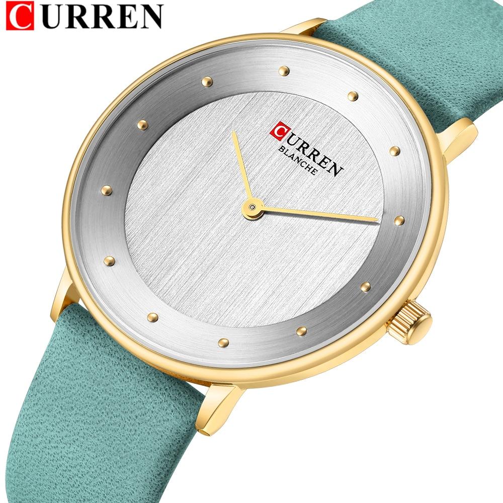Reloj Mujer 2021 موضة ساعات نسائية جلدية التناظرية الكوارتز ساعات المعصم السيدات ساعة ساحرة الإناث Relogios Feminino