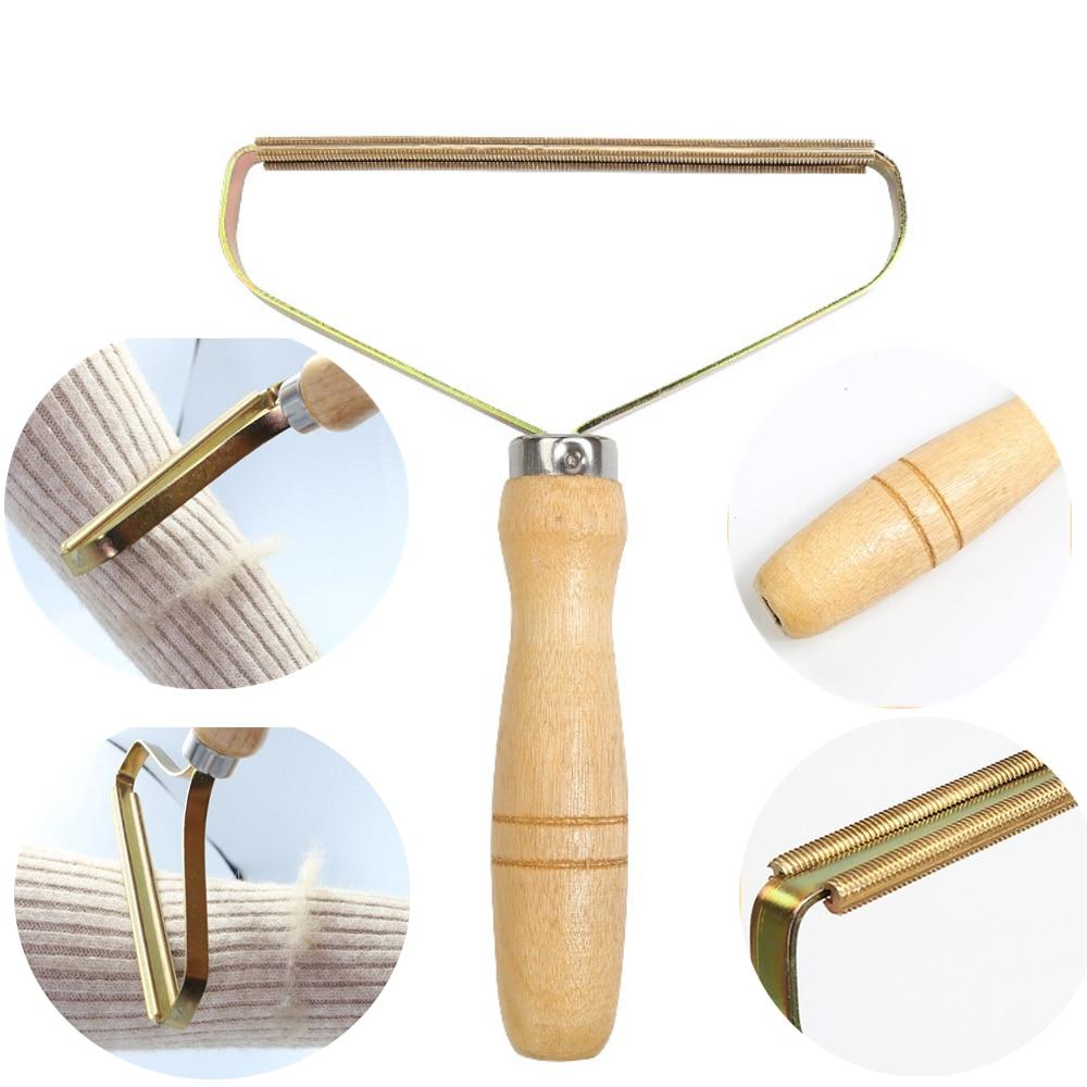 Removedor de fiapos portátil roupas fuzz tecido shaver escova ferramenta power-free fluff remoção de rolo para camisola tecido casaco pele removedor