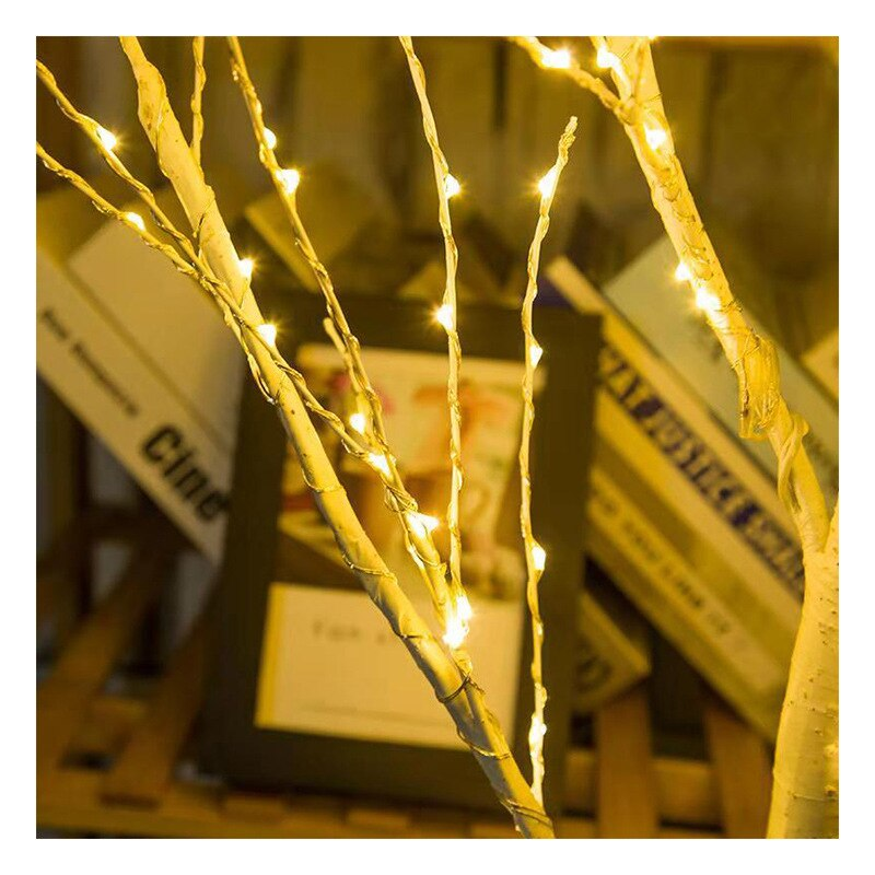 Birch Tree Lights Decorations for Home Night Light Lamp Valentine's Day Gift Bedroom Decor EU US Plug enlarge