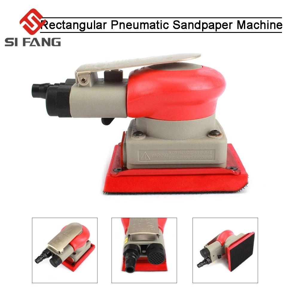 آلة صنفرة الهواء المحمولة ، آلة تلميع يدوية ، ملمع مداري عشوائي ، مطحنة احترافية